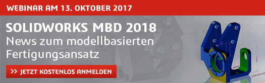 Live-Webcast SOLIDWORKS MBD 13.10.2017