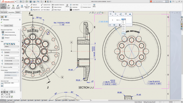 SOLIDWORKS World 2019 Technologievorschau Detailing Mode 1
